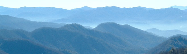 Smoky Mountains are near the woodworking school location