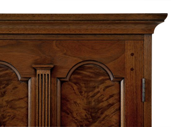 Paneled Spice Box Details