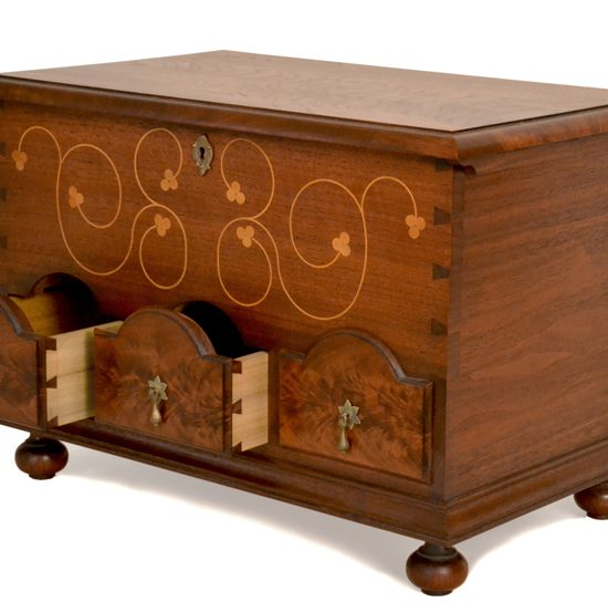 Drawer Details - Dowry Chest