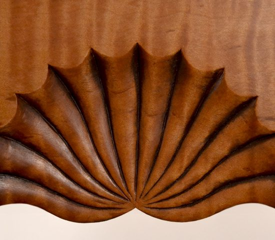 Recessed Fan Carving