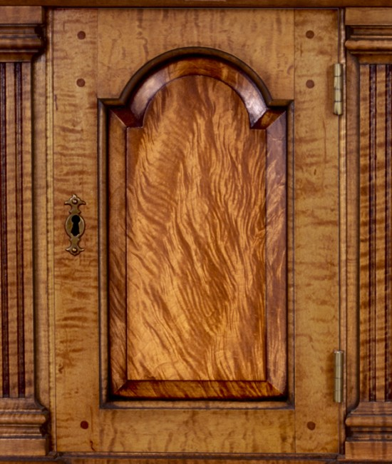 Prospect Door with Tiger Maple (Figured Wood)