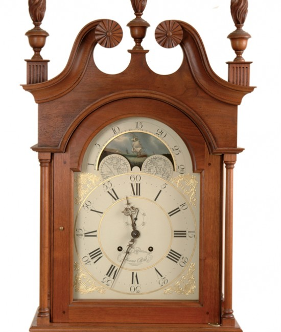 Clock Hood with Finials