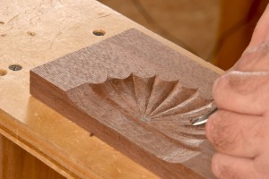 Rounding the lobes of your carving
