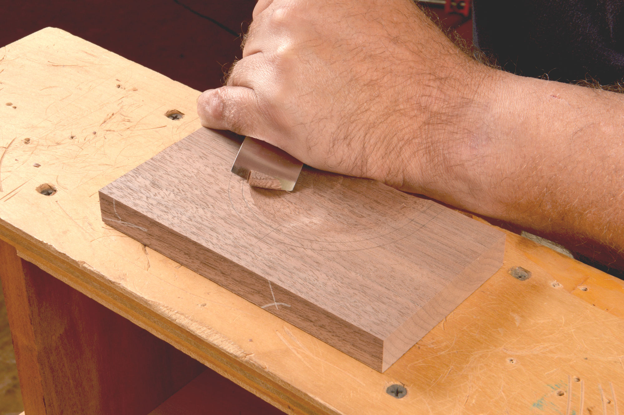 Carving a fan for your next piece of furniture lonnie bird
